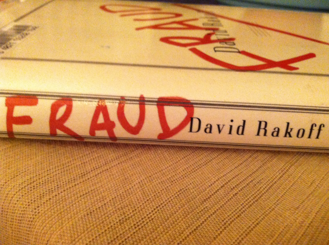 recommended reading fraud by david rakoff rosemary and reading fraud
