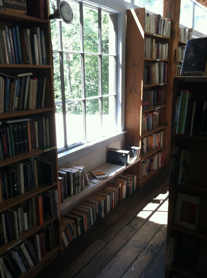 First floor, right side room -- poetry and fiction