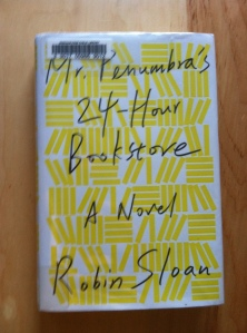 Mr. Penumbra's 24-Hour Bookstore photo by CR Oliver