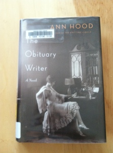 Ann Hood, The Obituary Writer, photo by CR Oliver