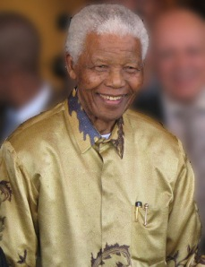 """and yet the menace of the years, /  finds and shall find me unafraid"": RIP Nelson Mandela"