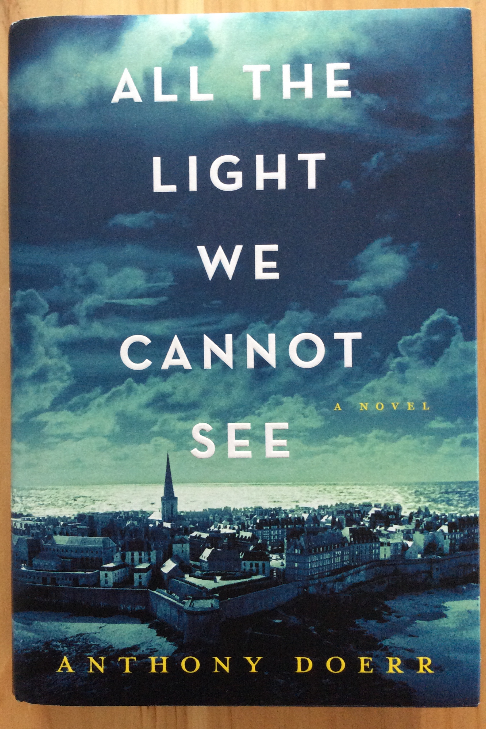 Light we cannot see by anthony doerr rosemary and reading glasses