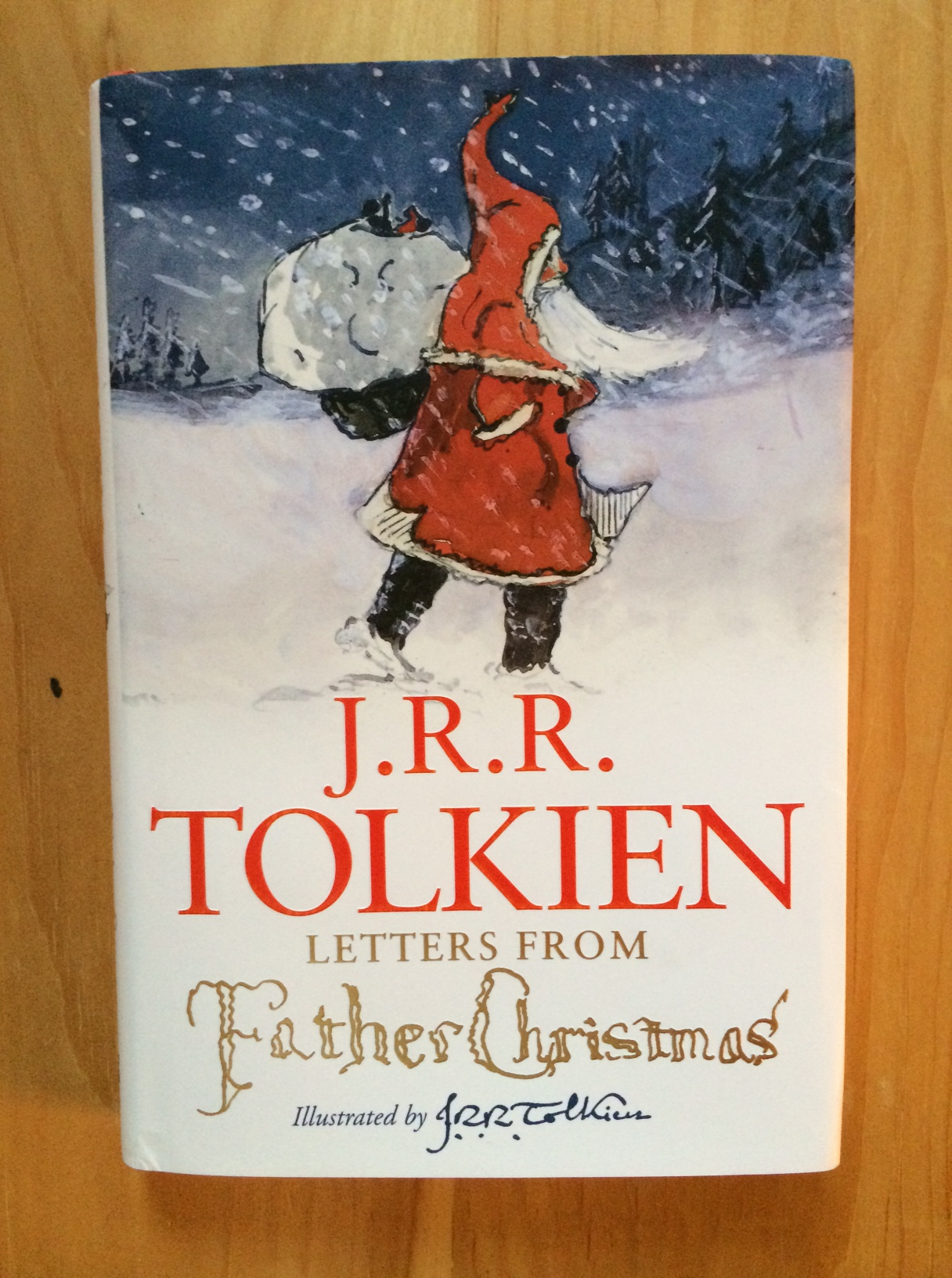 Recommended reading christmas edition letters from father if youre looking for the perfect christmas bookand maybe inspiration to write the small people in your life some larger than life letterslook no further spiritdancerdesigns Choice Image