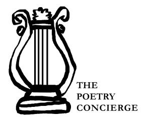 PoetryConcierge
