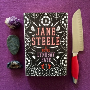 Jane Steele book photo by Carolyn Oliver